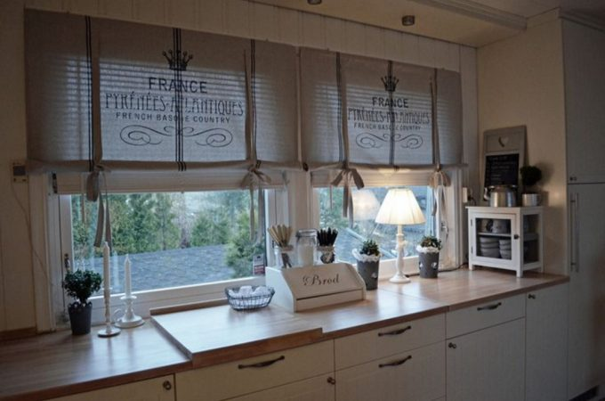 Interior: Best French Country Kitchen Curtains For Your Residence