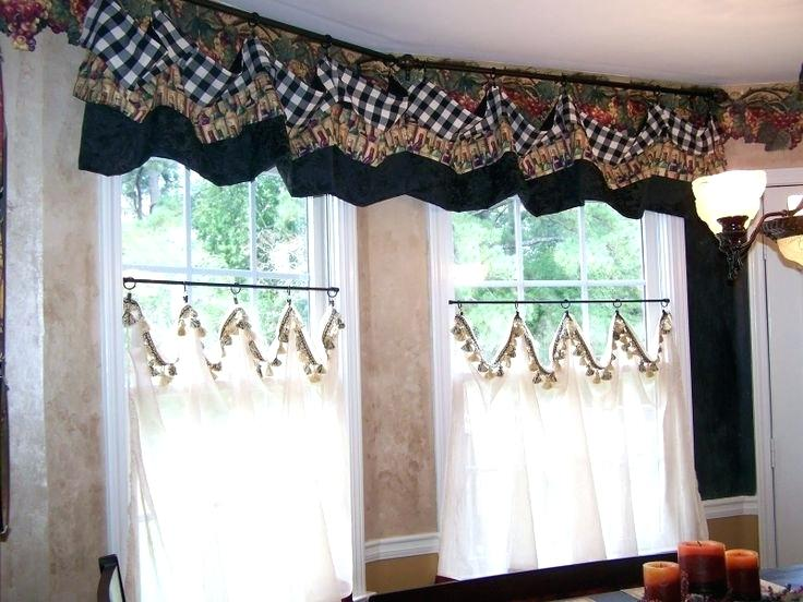 French Country Kitchen Curtains Best Kitchen Curtains Images On