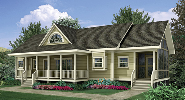 Ideas For Front Porch Raised Ranch Style Homes - Apartment Interior