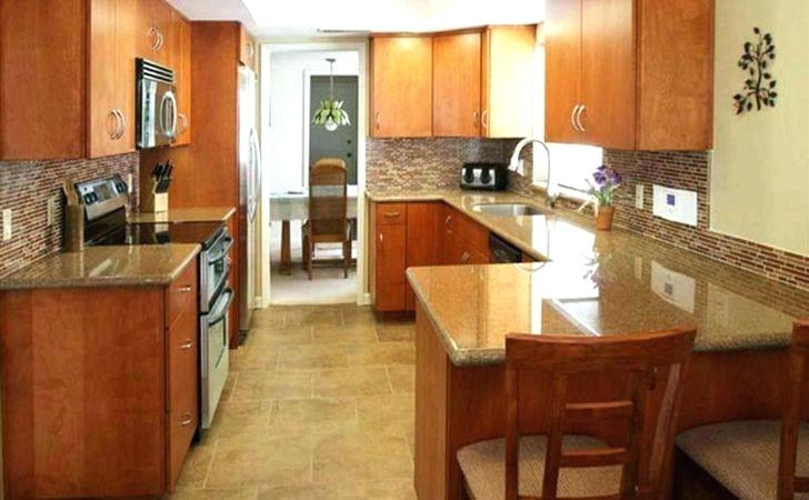 Small Galley Kitchen With Breakfast Bar Galley Kitchens Breakfast
