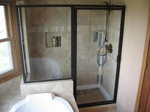 Watch Frosted Glass Bathroom Door Amazing Glass Shower Doors