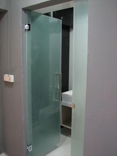 glass entrance doors bathroom images - Google Search | Bathroom