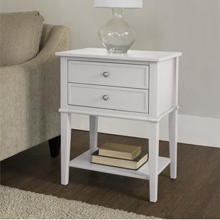 Bedroom Glass End Tables | Wayfair