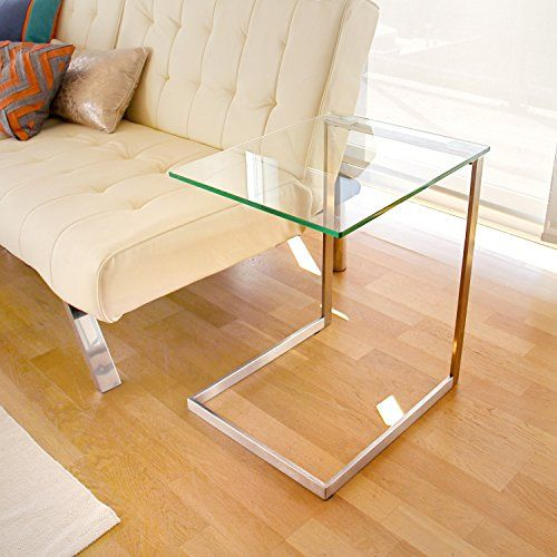 Rectangular End Table With Storage Area Side Table Décor End Table