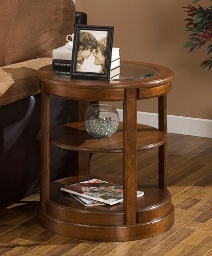 Glass End Tables With Storage