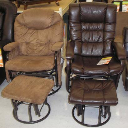Big Lots Recalls Glider Recliners with Ottomans Due to Entrapment
