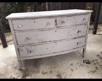 Distressed dresser | Etsy