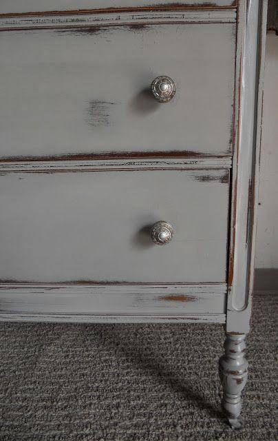 createinspire}: French Dresser. Annie Sloans Chalk Paint | Bathroom