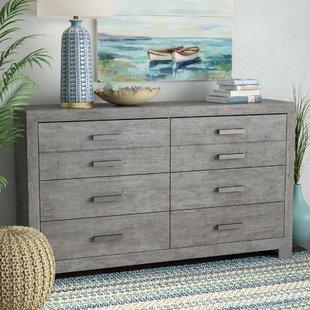 Gray Distressed Dresser