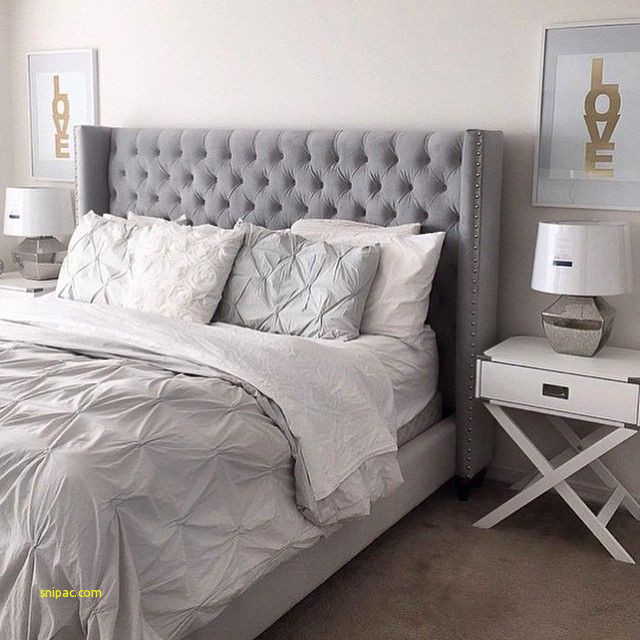 Grey Upholstered Headboard Bedroom Ideas Luxury Sweet Dreams are
