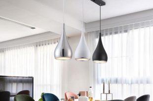 Modern Restaurant Pendant Lights Minimalist LED Hand Lamp Dining
