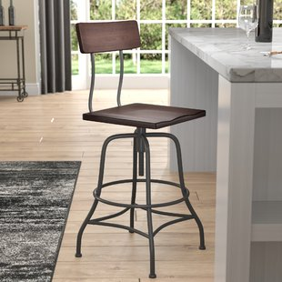 Adjustable Bar Stools You'll Love | Wayfair