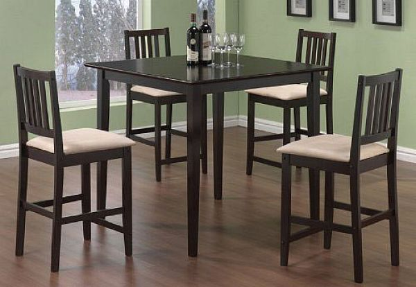 Elegant High Kitchen Table And Chairs Tall Kitchen Table Sets