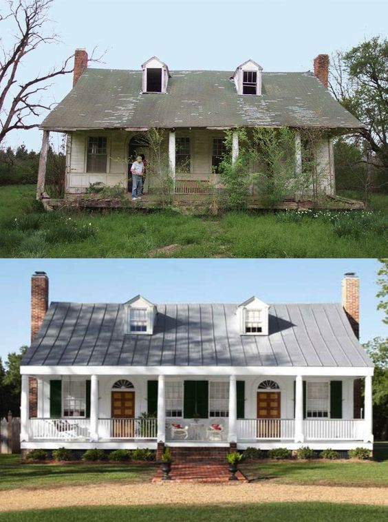 65 Wow-Worthy Home Makeovers | General DIY | Home exterior makeover