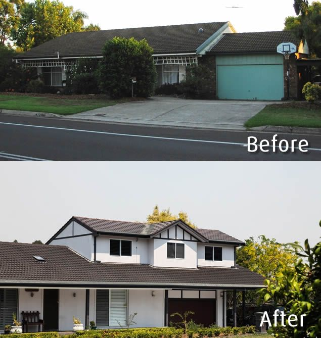 House Renovations - Before and After