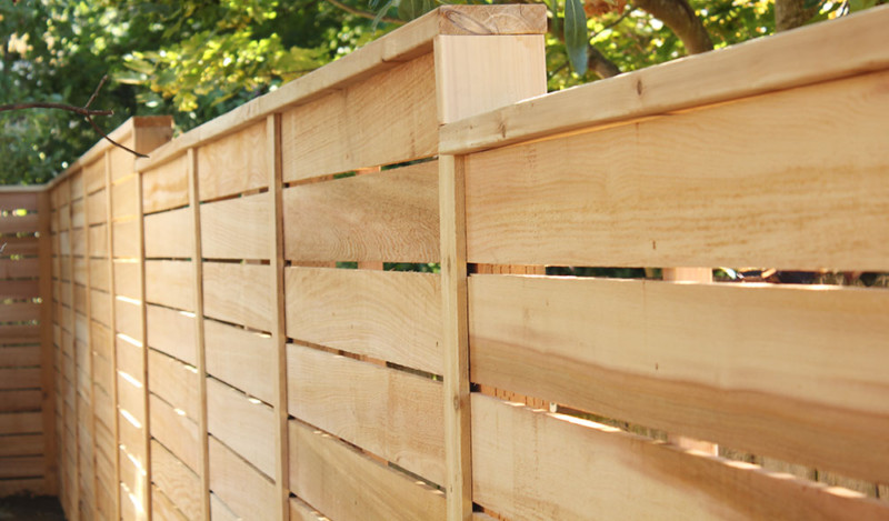 Horizontal Wood Fence Design You Can Try | J Birdny