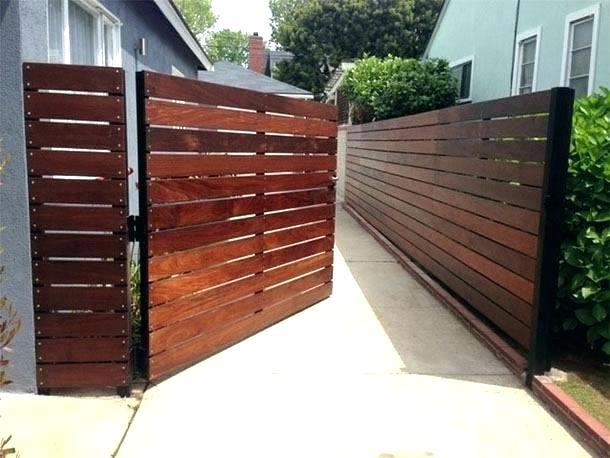 Wood Fence Gate Kit Horizontal Fencing Designs Roll u2013 rlcdressregs.info