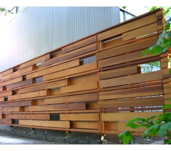 horizontal wood privacy fence - Google Search | Garden and Outdoor