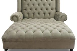 Smith Chaise - Traditional - Indoor Chaise Lounge Chairs - by Haute
