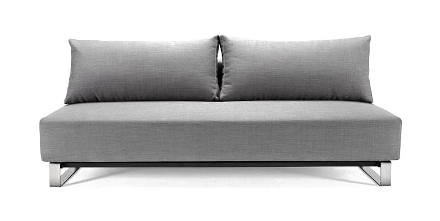 Reloader Sleek Excess Sofa Bed Heavy Natch Grey by Innovation