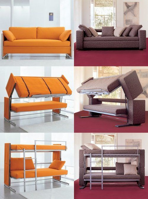 10 Out-of-the-Ordinary Convertible Beds | around the house | Space