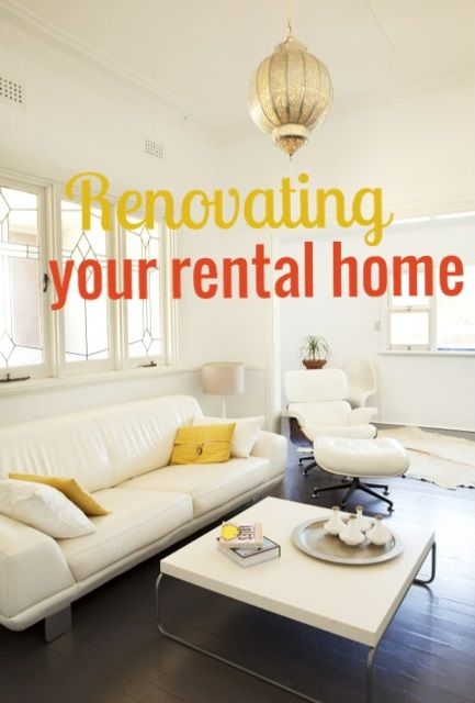 tips for tenants from an interior designer. | DIY Home | House, Home