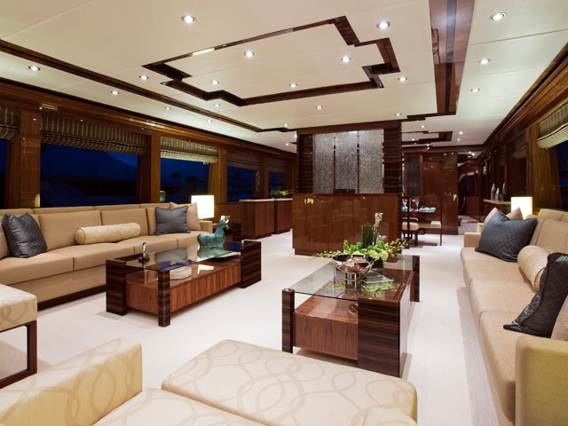YIBS: Yacht Interiors By Shelley | Luxury Yacht Interior Designs
