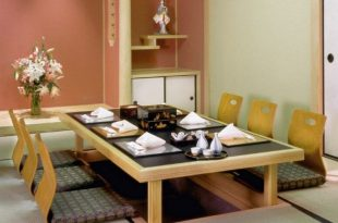 20 Trendy Japanese Dining Table Designs | Dining Room Design
