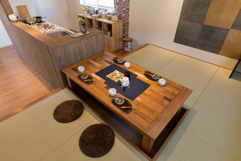 Wondrous Japan Style Dining Table Ideas To Get Inspiration From