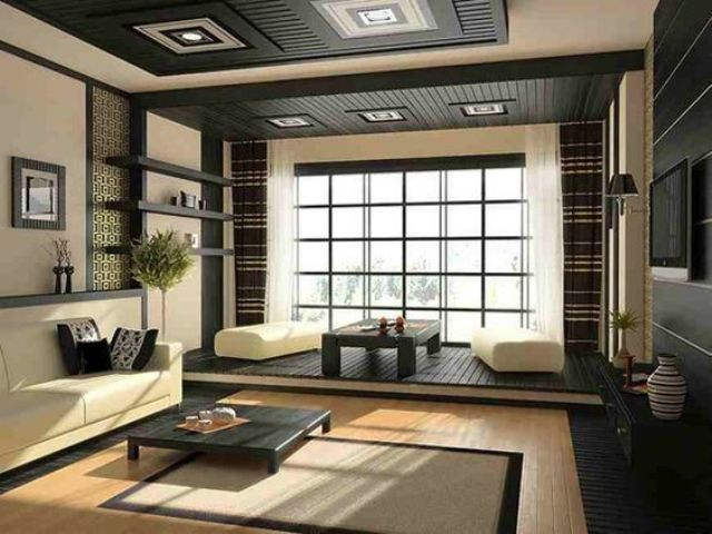 31 Serene Japanese Living Room Décor Ideas - DigsDigs