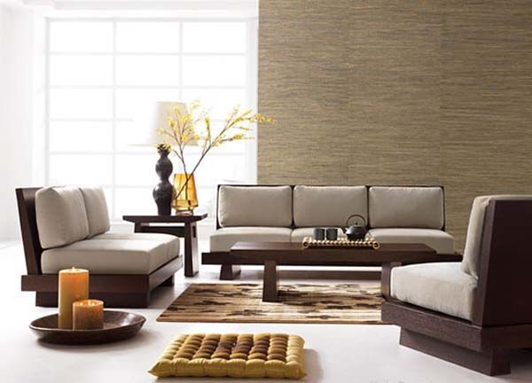 japanese style | asian style living room furniture sets from Haiku