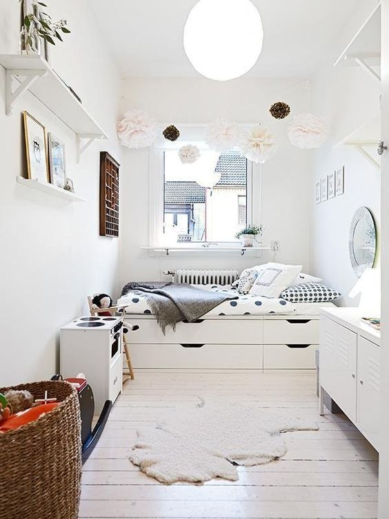 35 Brilliant Small Space Designs | Homie Places | Kids room, Ikea