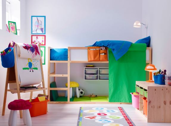 Kids Bedroom Ideas for Small Rooms |