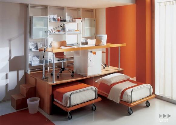 7 Kids Bedroom Interior Design Ideas For Small Rooms on LoveKidsZone