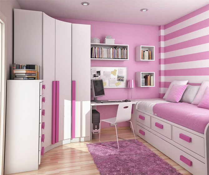 Small Space Kids Room Ideas   low budget interior design
