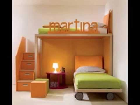 DIY kids bedroom design decorating ideas for small rooms - YouTube