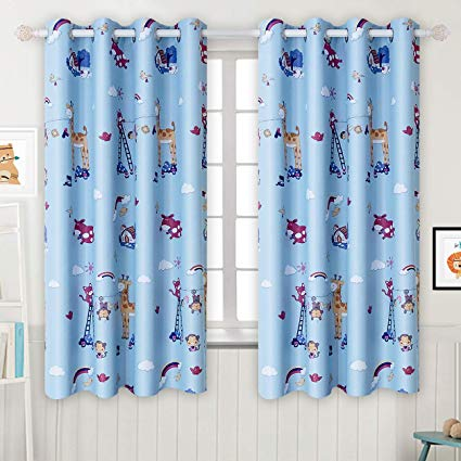 Amazon.com: BGment Kids Blackout Curtains - Grommet Thermal