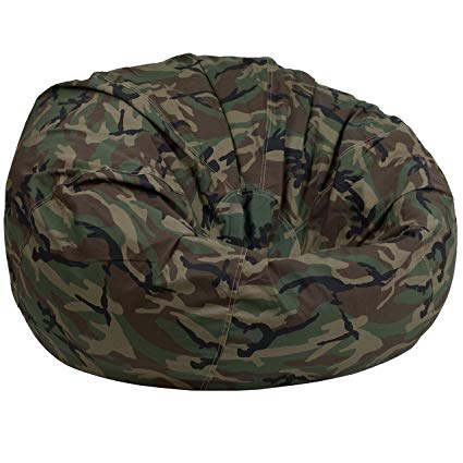 Amazon.com: Flash Furniture Oversized Camouflage Kids Bean Bag Chair