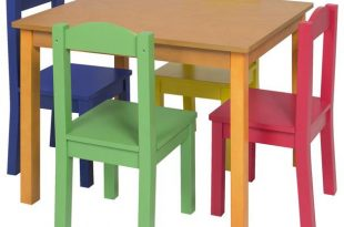Wood Tables and wooden chair at Daycare Furniture Direct. Wooden