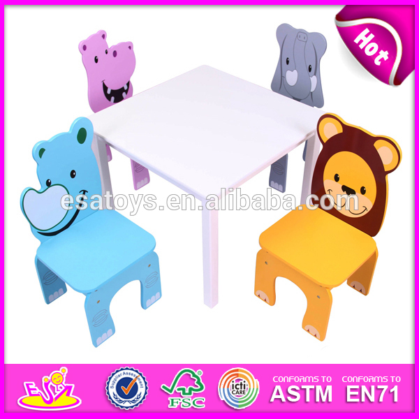 Cheap Wood Table And Chairs Toy For Kids,Lovely Cheap Wood Table And