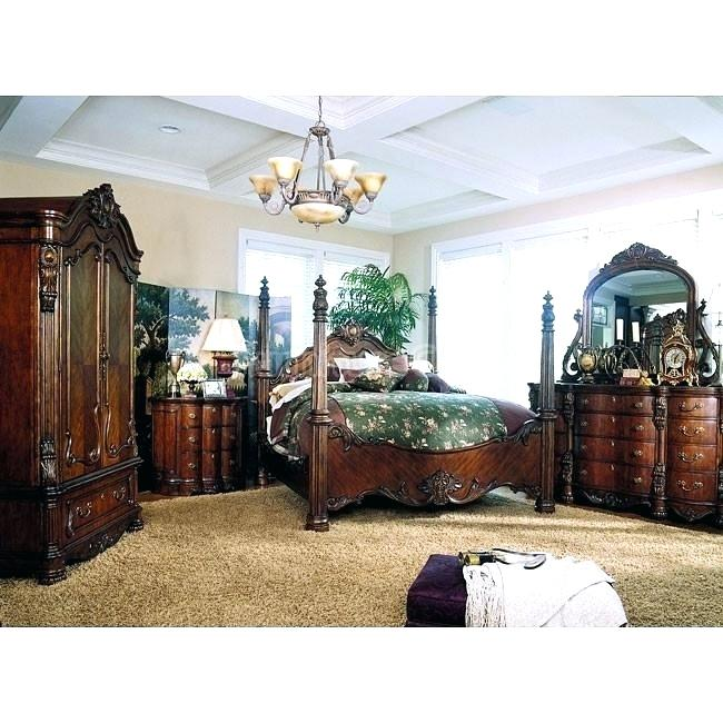 Glamorous Bedroom Set With Armoire King Bedroom Sets With Bedroom