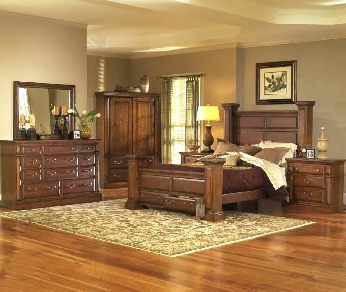 Bedroom Set With Armoire King Bedroom Pine King Bedroom Set Armoire