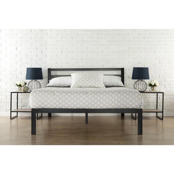 Shop Priage 3000H King-Size Platform Bed Frame with Headboard - Free