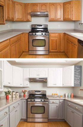 How to Paint Kitchen Cabinets in 5 Easy Steps | Kitchen | New
