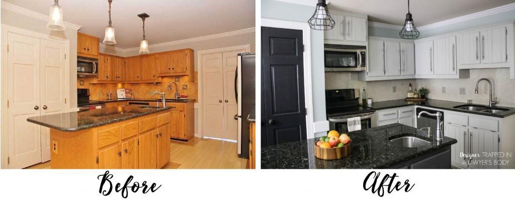 Should I Paint My Kitchen Cabinets? | DesignerTrapped.com