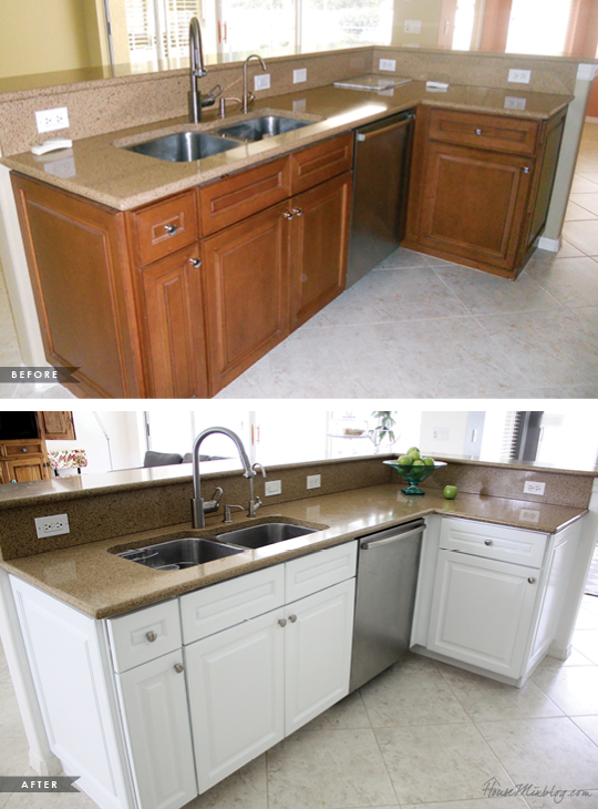 How I transformed my kitchen with paint | House Mix