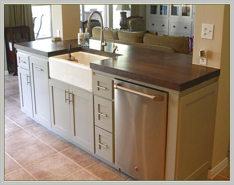 Kitchen Island With Sink And Dishwasher | First Home in 2019