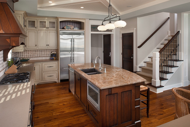 Clareville - Lake Cottage - Traditional - Kitchen - Grand Rapids
