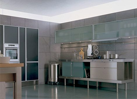 Kitchen-Wall-Cabinets-With-Glass-Sliding-Doors | Kitchen Details