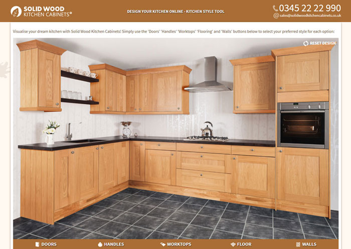 Laminate Kitchen Worktops | Solid Wood Kitchen Cabinets